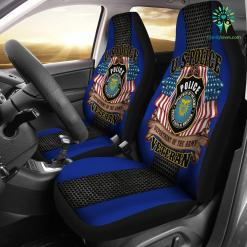 U.S police department of the army veteran car seat cover %tag familyloves.com