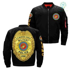 United States marine corps military police over print jacket %tag familyloves.com