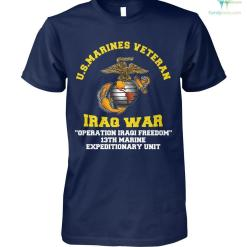 familyloves.com Us marines veteran Iraq war operation Iraqi...t-shirt %tag
