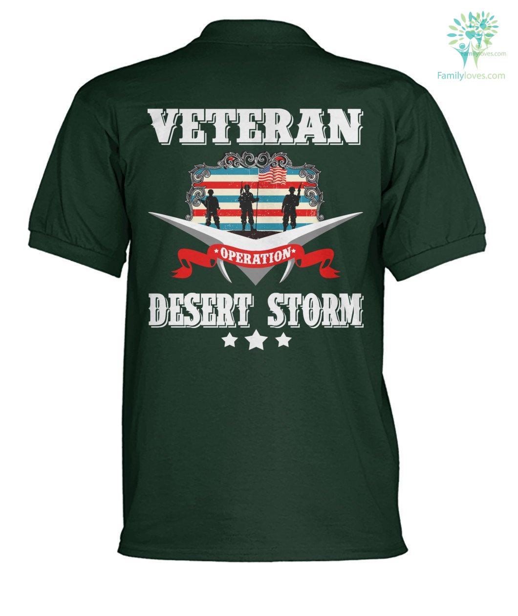 Veteran Desert Storm? men's polo shirt %tag familyloves.com
