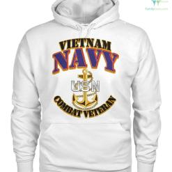 Vietnam Navy Combat Veteran Hoodie, Sweatshirt, T-shirt %tag familyloves.com