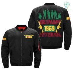 Vietnam veteran 1969 - Vietnam Veterans of America Over Print Jacket %tag familyloves.com