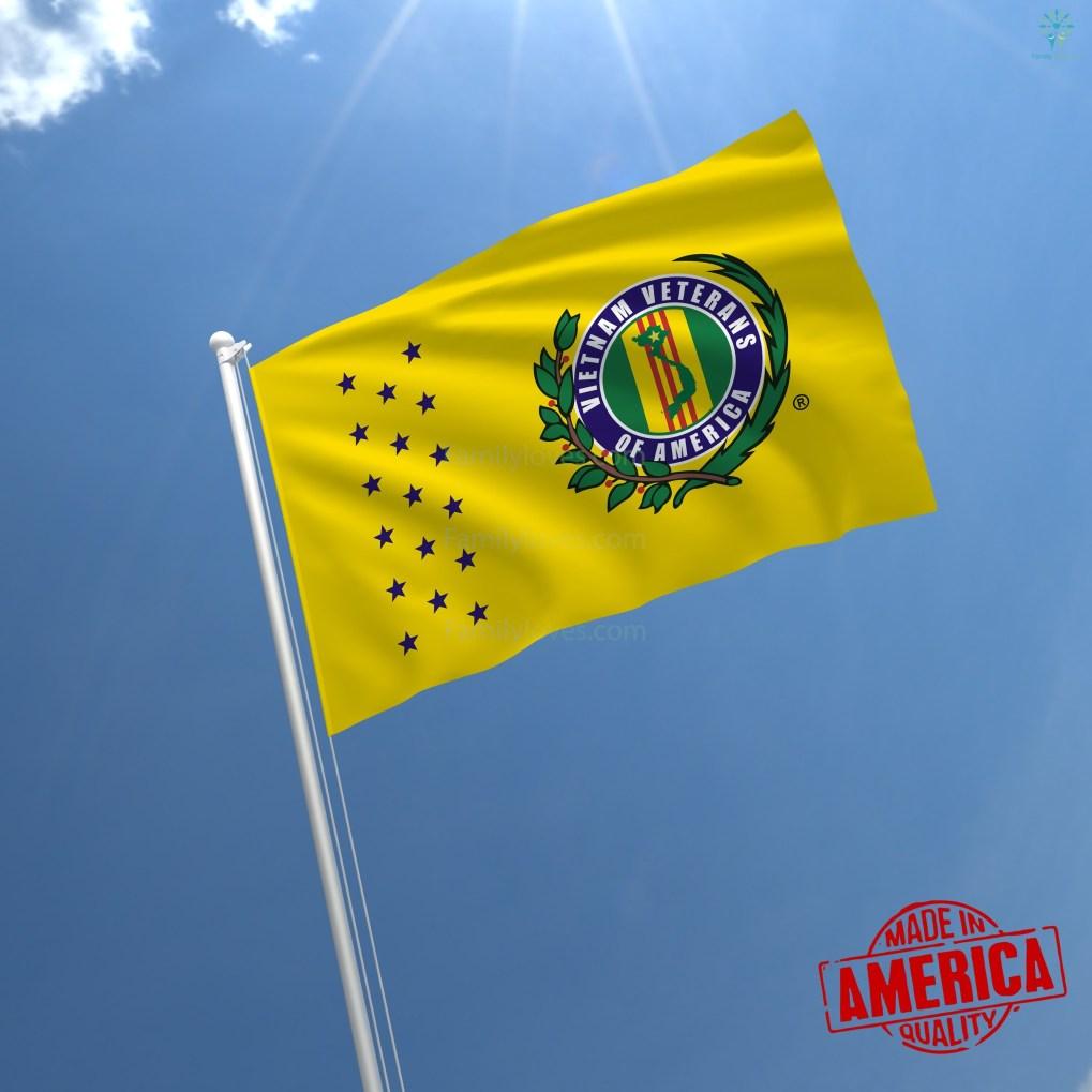 familyloves.com VIETNAM VETERANS OF AMERICA - WALL FLAG %tag