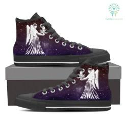 Virgo High Shoes Purple %tag familyloves.com