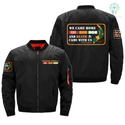 WE CAME HOME & DEATH, CAME WITH US, Vietnam Veterans of America, OVER PRINT JACKET %tag familyloves.com