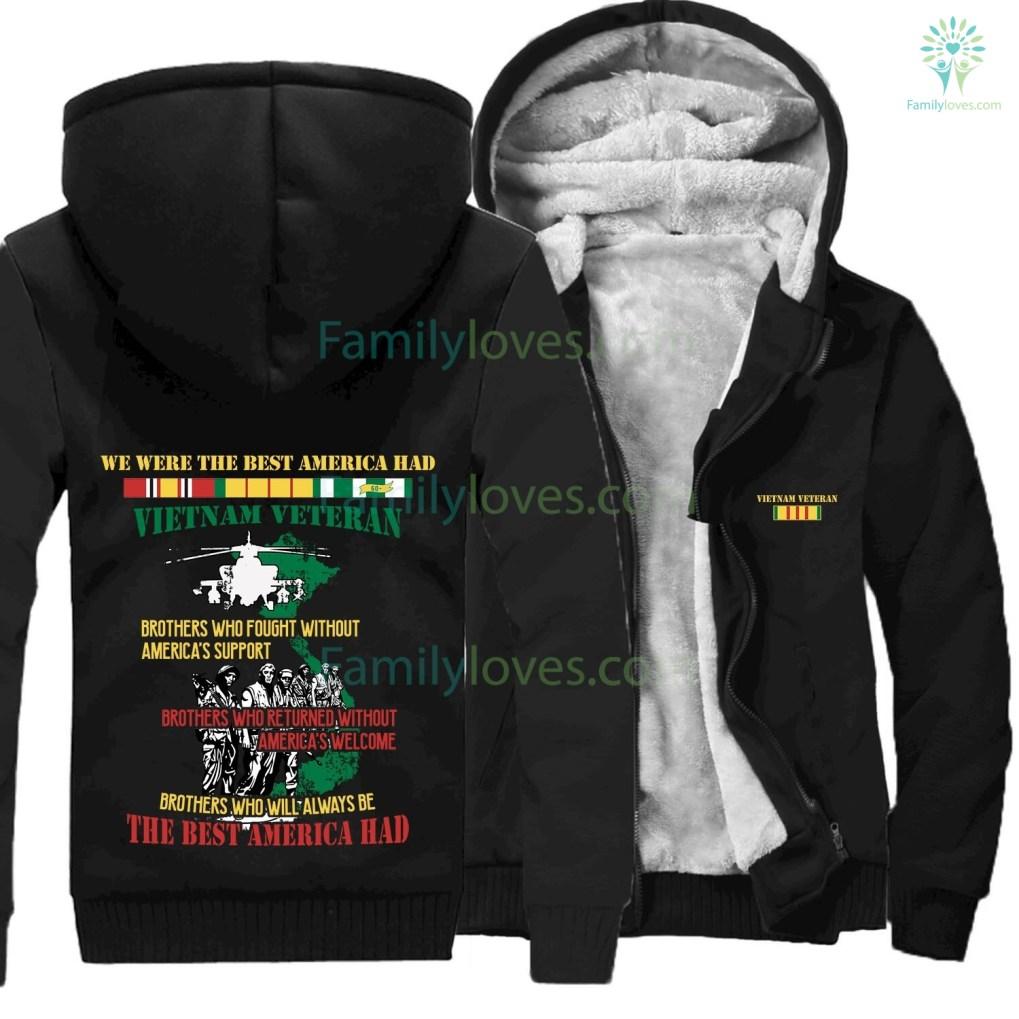 familyloves.com WE WERE THE BEST AMERICA HAD- Vietnam Veterans of America- hoodie %tag