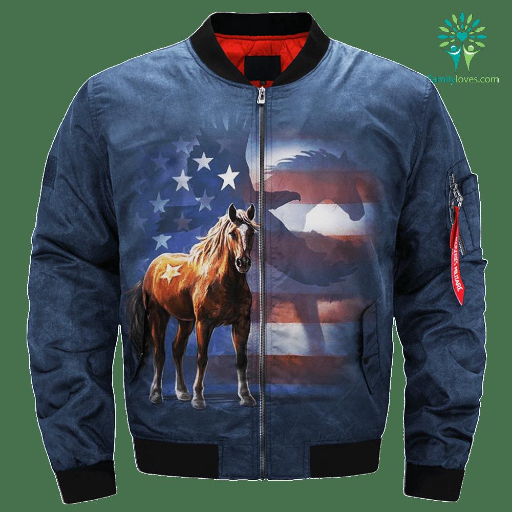 Wild Star Flag over print jacket %tag familyloves.com