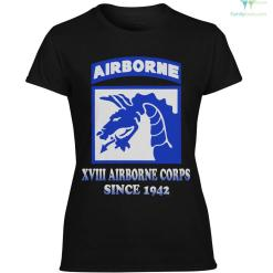 XVIII airborne corps since 1942 men, women hoodie, sweatshirt, t-shirt %tag familyloves.com