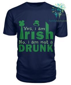 YES I'M IRISH - NO, I'M NOT A DRUNK St. Patricks shirt, St. Patrick's Day shirt, St. Patricks day, St Pattys day shirt, Sizes S-5XL %tag familyloves.com