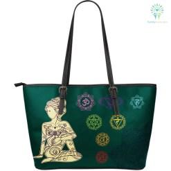 familyloves.com Yoga Large Leather Bag %tag