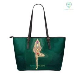 familyloves.com Yoga Small Leather Bag %tag