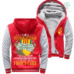 familyloves.com I Am A Vietnam Veteran I Love Freedom I Wore Dogtags I Have A DD-214 Woman Hoodie %tag