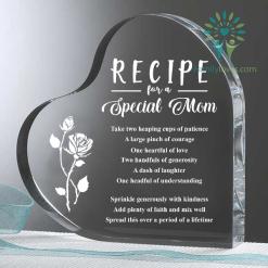 familyloves.com Recipe for a Special Mom Heart Keepsake %tag