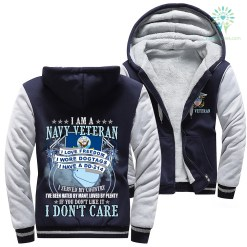 familyloves.com I Am A Navy Veteran Veteran I Love Freedom I Wore Dogtags I Have A DD-214 Woman Hoodie %tag