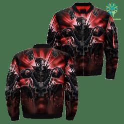 Skull Biker Over Print Jacket payment shipping %tag familyloves.com