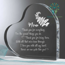 Mum thank you for everything...Heart Keepsake %tag familyloves.com