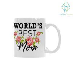 familyloves.com Worlds Best Mom Classical White Mug (11 OZ) (Made In USA) %tag