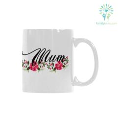 familyloves.com Mum Classical White Mug (11 OZ) (Made In USA) %tag