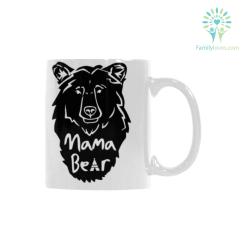Mama beart Classical White Mug (11 OZ) (Made In USA) %tag familyloves.com