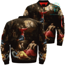 God's Dream Over Print Jacket %tag familyloves.com