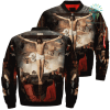 familyloves.com Saint Peter's Vision Over Print Jacket %tag