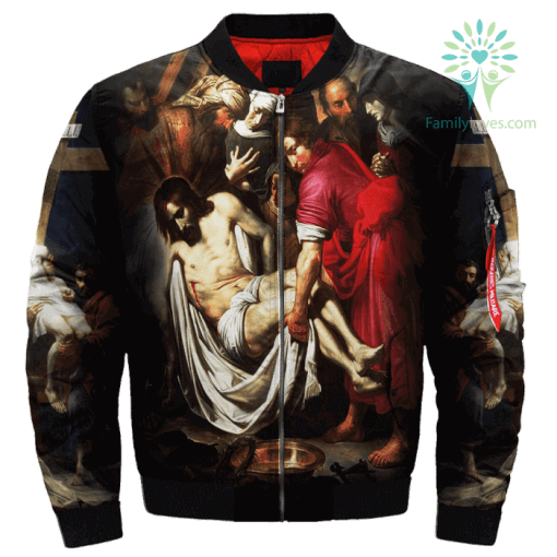 Descendants From The Cross Of Giorgio Vasari Over Print Jacket %tag familyloves.com