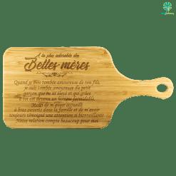 familyloves.com À LA PLUS ADORABLE DES BELLES-MÈRES PLANCHE À DÉCOUPER EN BAMBOU 2 %tag
