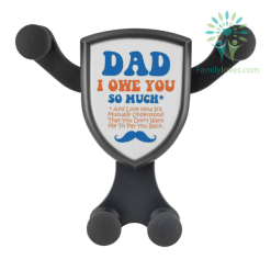 Dad I Owe You So Much And Love How It's Mutually Understood... Wireless Car Charger %tag familyloves.com