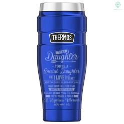 To My Daughter You're A Special Daughter_Thermos Stainless King 16 Ounce Travel Tumbler %tag familyloves.com