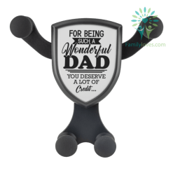 For Being Such A Wonderful Dad You Deserve A Lot Of Credit... Wireless Car Charger %tag familyloves.com