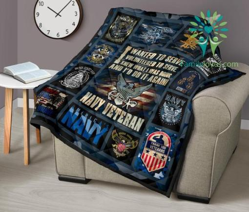 I wanted to serve. I volunteered to serve... Navy Quilts %tag familyloves.com