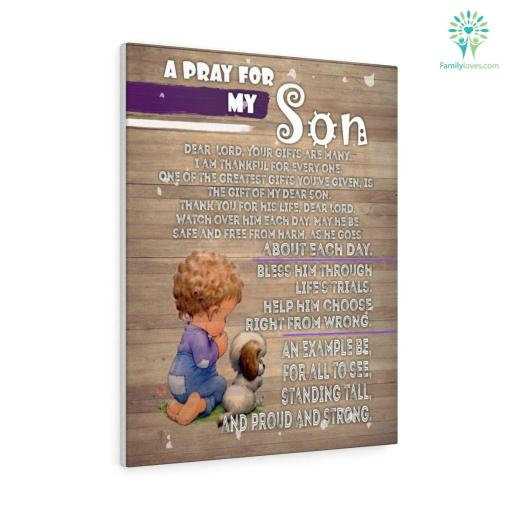 A Pray for my son Canvas gifts for mom %tag familyloves.com
