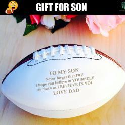 Words to my son Autograph Football football %tag familyloves.com