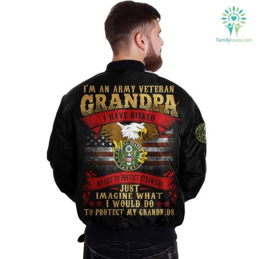 VA benefits Over Print Jacket %tag familyloves.com