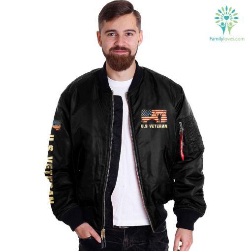 I am a grumpy veteran Over Print Jacket %tag familyloves.com