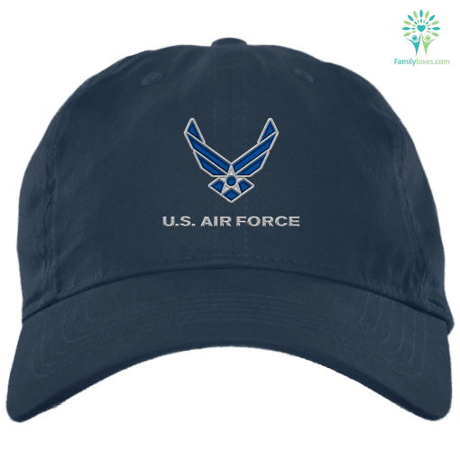 U.S. Air Force Hap Wing MILITARY Embroidery Dad Cap %tag familyloves.com
