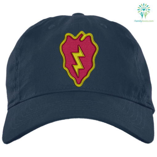 U.S. Army 25th Infantry Division 3 Military Patch Embroidery Dad Cap %tag familyloves.com