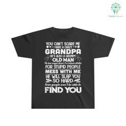 I Have a Crazy Grandpa Youth Ultra Cotton Tee %tag familyloves.com