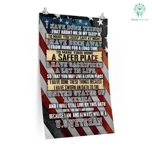 I am and always will be a US Veteran Posters %tag familyloves.com