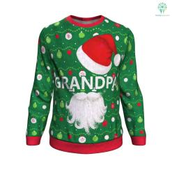 Grandpa ugly christmas sweater %tag familyloves.com