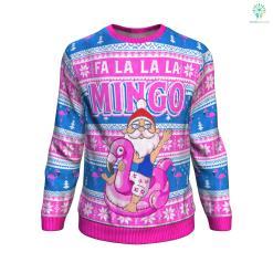 Fa la la la mingo UGLY CHRISTMAS SWEATER %tag familyloves.com