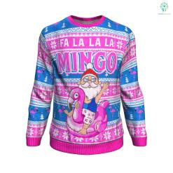 Fa la la la mingo UGLY CHRISTMAS SWEATER %tag familyloves.com