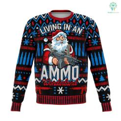 Ammo Wonderland - Athletic Sweatshirt %tag familyloves.com