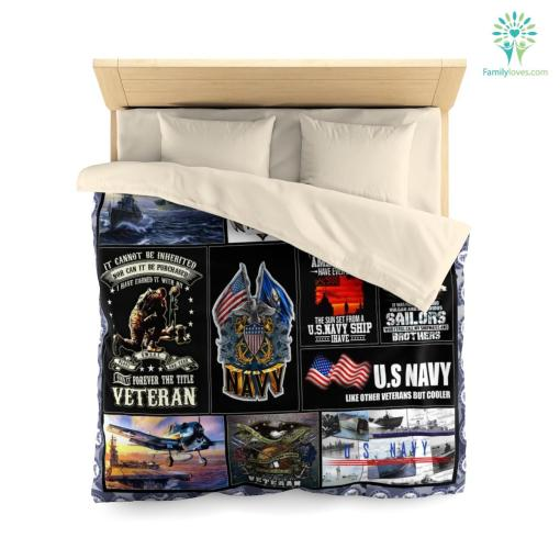 U.S Navy ranks microfiber duvet cover pillow bedding sheet %tag familyloves.com