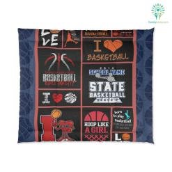 Basketball Comforter Girl Basketball %tag familyloves.com