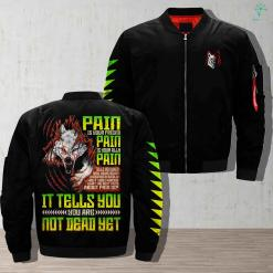 Wolves at the gate - pain is your friend pain is your ally pain jacket %tag familyloves.com
