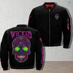 Wicked Skull Jacket %tag familyloves.com