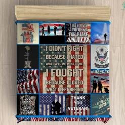 U.S. veterans assistance foundation microfiber duvet cover pillow bedding sheet %tag familyloves.com