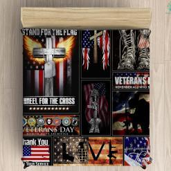 U.s. veterans administration Microfiber Duvet Cover Pillow Bedding sheet %tag familyloves.com