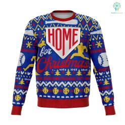 Home For Christmas - Athletic Sweatshirt %tag familyloves.com